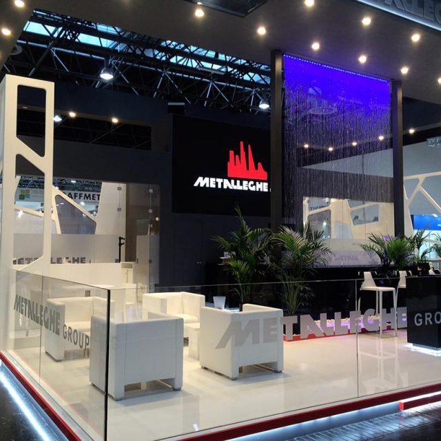 Metalleghe stand at messeduesseldorf for ALU16 aluminium2016 alu2016 aluminium messehellip