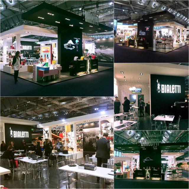 Look at the Bialetti stand in frankfurt for ambientefair ambiente17hellip