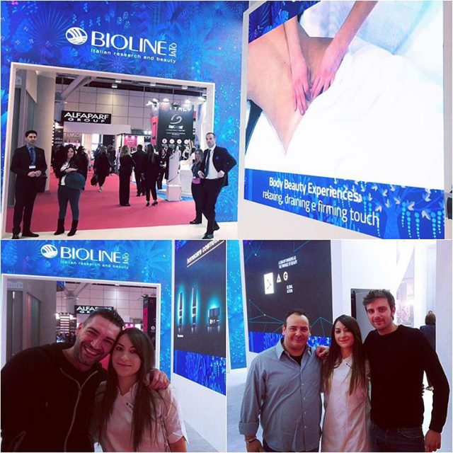 Live from cosmoprof50 at Bioline Stand cosmoprof cosmoprof2017 bologna biolinejatohellip