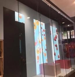 Installazione ledwall nello Store Sunglass Hut a New York