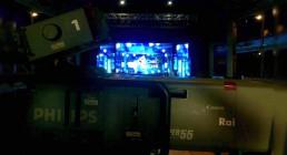 Camera Rai e Ledwall B-Happy per la serata I Nostri Angeli - Premio Luchetta al Teatro il Rossetti di Trieste