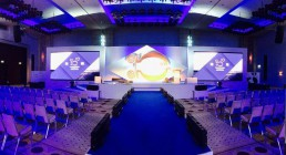 I 2 ledwall installati per la Convention in Grecia - Westin Resort Costa Navarino