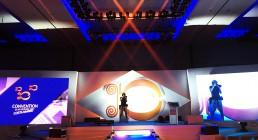 Ledwall e luci installate prima della Convention al Westin Resort Costa Navarino