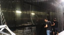 Montaggio video ledwall sul palco del Teatro Il Rossetti di Trieste per la serata I Nostri Angeli - Premio Luchetta