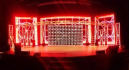 Prove ledwall per la serata I Nostri Angeli - Premio Luchetta al Teatro Il Rossetti di Trieste