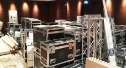 Scarico Materiale per Convention in Grecia