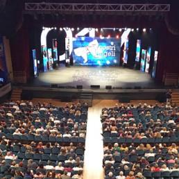 Sala piena al teatro Il Rossetti di trieste per la serata I Nostri Angeli