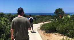 Verso la spiaggia Costa Navarino Grecia