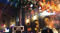Americana con luci installate per Iren Energy Dinner a Parma