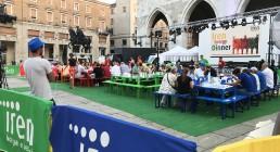 Iren Energy Dinner in Piazza dei Cavalli a Piacenza