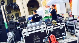 Regia audio B-Happy ad Iren Energy Dinner Parma