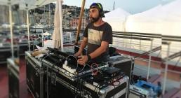 Tecnico luci B-happy per la serata Iren Energy Dinner a Genova
