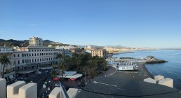 Vista dall'Hotel Castello Miramare a Genova