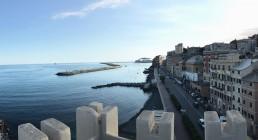 Vista di Genova dall'Hotel Castello Miramare