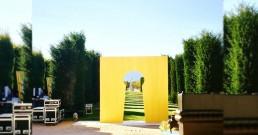 Giardini della Reggia di Venaria Reale a Torino