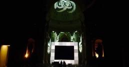 Giochi di luce nella Cappella di Sant'Uberto - Reggia di Venaria Reale