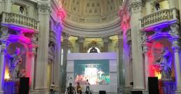 Prove luci B-Happy nella Cappella di Sant'Uberto - Reggia di Venaria Torino