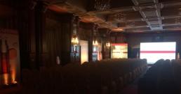 Sala Galilei dell'Hotel Principe di Savoia allestita per la convention_Milano