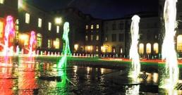 Spettacolo audio e luci nella Terrazza della Regiana- Reggia di Venaria Torino