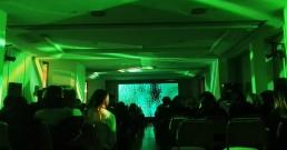Ledwall B-Happy con proiezione immersiva nella Sala Michelangelo del Rome Cavalieri, Waldorf Astoria Hotels & Resorts