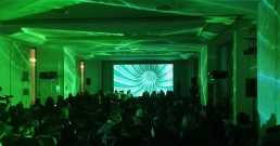 Proiezione immersiva nella Sala Michelangelo del Rome Cavalieri, Waldorf Astoria Hotels & Resorts