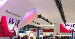 Ledwall B-Happy per Stand Mitsubishi Electric a MCE 2018 Milano