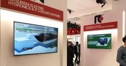 Monitor nello Stand Mitsubishi_MCE 2018
