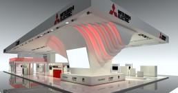 Render Stand Mitsubishi Electric_MCE2018_1