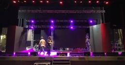 Ledwall e luci B-Happy sul palco del Teatro Politeama Rossetti per la serata I Nostri Angeli 2018