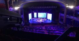 Brunori Sas sul palco del Teatro Politeama Rossetti di Trieste per la serata I Nostri Angeli 2018