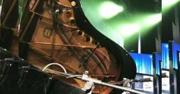 Microfoni Rode per audio pianoforte sul palco del Teatro Il Rossetti di Trieste_I Nostri Angeli 2018