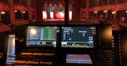 Regia luci B-Happy al Teatro Politeama Rossetti di Trieste per la serata I Nostri Angeli 2018