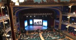 Riprese per la serata I Nostri Angeli 2018 al Teatro Politeama Rossetti di Trieste
