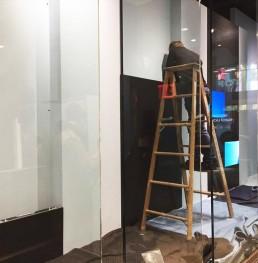 Montaggio ledwall nello store Sunglass Hut a New York