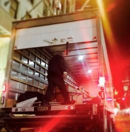 Truck per Sunglass Hut New York