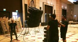Installazioni audio nella Great hall del Westin Resort in Grecia