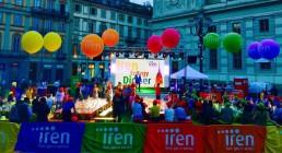 Iren Energy Dinner a Torino - Montaggio audio video luci B-Happy