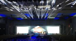 Prove luci prima della Convention al Westin Resort Costa Navarino Grecia