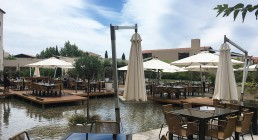 Sala esterna Resort Westin Costa Navarino