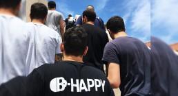 Team B-Happy in Grecia