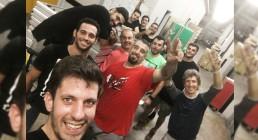 Tecnici B-Happy al lavoro in Grecia