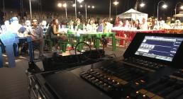 Console dot2 MA lighting e ospiti di Iren Energy Dinner a Genova