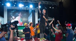 Francesco Facchinetti canta ad Iren Energy Dinner a Parma