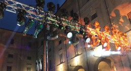 Impianto luci per Iren Energy Dinner Parma