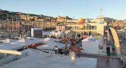 La tolda della Nave Blu dell'Acquario di Genova - Iren Energy Dinner