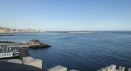 Mare di Genova dall'Hatel Castello Miramare