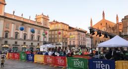 Piazza dei Cavalli allestita per Energy Dinner a Piacenza