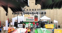 Prove tecniche B-Happy per Iren Energy Dinner a Parma