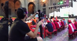Regia video B-Happy per Iren Energy Dinner a Parma