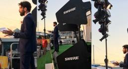 Shure e DTS lighting sul palco con Gianluca Gazzoli per Iren Energy Dinner a Genova